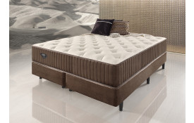 CAMA BOX QUEEN ECOFLEX SENSAZIONE, MOLAS SUPERLASTIC 1,58X1,98