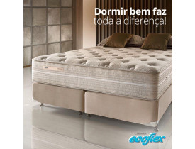 CONJUNTO QUEEN ECOFLEX DIFFERENCE FRESH, MOLAS ENSACADAS (PHP) 1,58X1,98