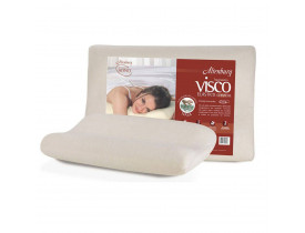 Travesseiro Altenburg Visco Cervical Marfim Bege - 48cm x 68cm