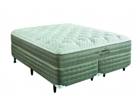 CAMA BOX KING KOIL SMOOTH ULTRASOFT LÁTEX CASAL 1.38 X 1.88